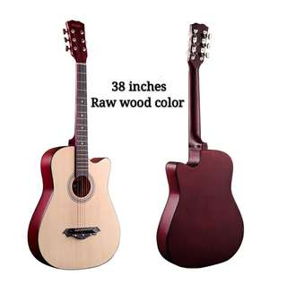 Senjie Guitar raw wood (Only can booking)