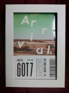 Got7 unsealed album - Flight Log: Arrival