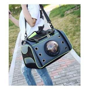 handcuffs space pet bag