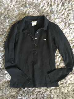 Lacoste Black Womens size 38 (small)