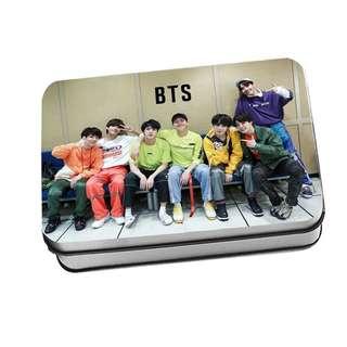 🚚 防彈少年團BTS lomo卡 贈鐵盒