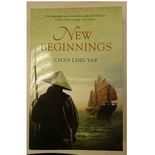 New Beginnings novel by Chan Ling Yap