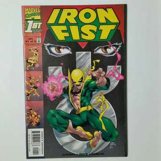 Iron Fist No.1-3 comics