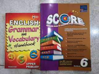 Primary 4 - 6 English Reference Book