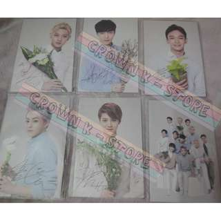 [CRAZY DEAL 90% OFF FROM ORIGINAL PRICE][READY STOCK]EXO-M NATURE REPUBLIC KOREA OFFICIAL POSTCARD SET 6PC; ORIGINAL FR KOREA (PRICE NOT INCLUDE POSTAGE); POSLAJU:PENINSULAR AREA :RM10/SABAH SARAWAK AREA: RM15