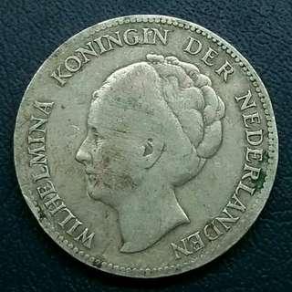 Koin kuno peninggalan belanda (ratubwellhelmina thn 1931)