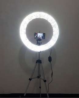 Ring light hand made