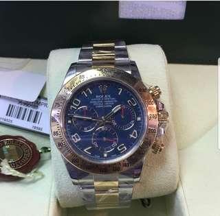 Rolex 116523 藍貓 亂碼卡 2014 歐水 full set