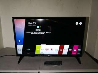 LG 32LJ6100 2017年model 32吋 smart tv 電視