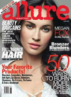 Allure magazine Megan Fox