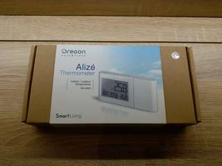 Alize Thermometer with clock / 室內外溫度計(附時間,星期)