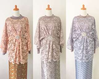 Kebaya brokat all size