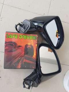 Honda stream rn6 side mirror cermin biru ada signal