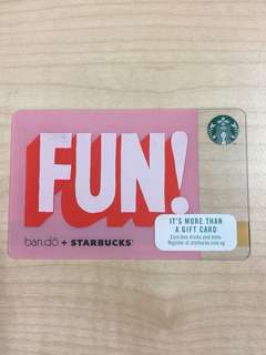 Starbucks Gift Card Fun ban.do + Starbucks