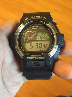 G-shock手錶太陽能GR8900