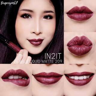IN2IT limited edition pearl matte