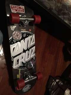 Authentic Santa Cruz skateboard