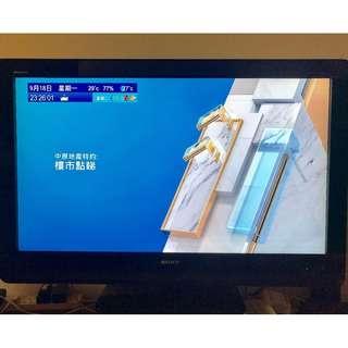 40吋Sony Bravia LCD全高清電視機連機頂盒