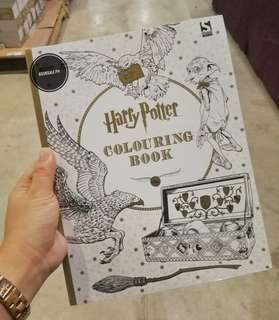 BRAND NEW Harry Potter Adult Coloring Book