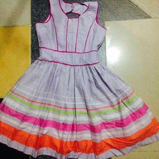 Dress for kids take all pang 6-7 yrs old