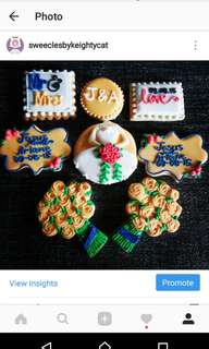 Made to order Wedding Customized Sugar Cookies for