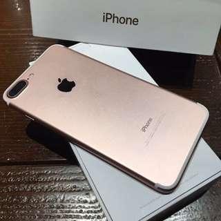Iphone7 plus 32Gb 玫瑰金