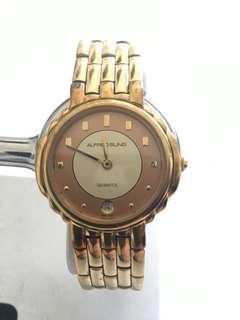 Women's Alfred Sung Gold-tone Bracelet Watch