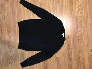 Calvin klein v-neck kashmir sweater