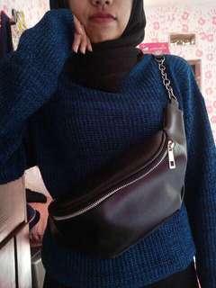 1 Zipper Chain Waistbag