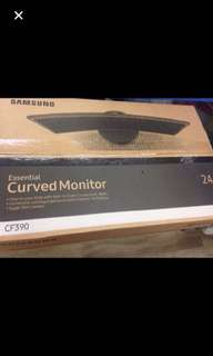 Wts brandnew Samsung curve 24 c390f led monitor