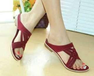 Sandal tali wanita cometa CSL80