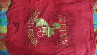 Disney Red Tshirt