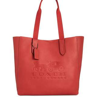 Coach Tote - Washed Red