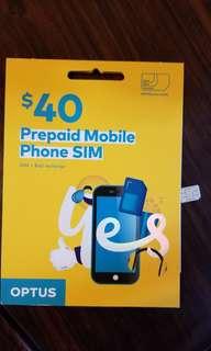 Australia prepaid Sim Card