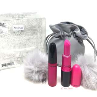 MAC Snow Ball Collection Shadescents Kit in Candy Yum Yum