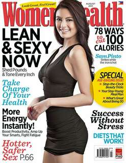 Women's Health August 2011 Sam Pinto