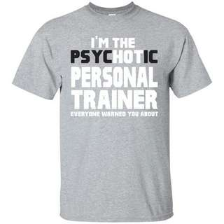 🚚 Hot Personal Trainer Unisex Design Apparel Tshirt Tee
