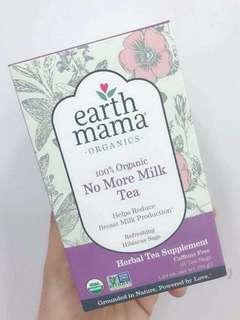 斷奶茶 適合準備斷奶的母乳媽媽!No more Milk Tea Earth Mama 地球媽媽有機回奶茶 一盒16包