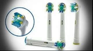 半價❌全新 電動牙刷代用刷頭 4件裝 EB-25A