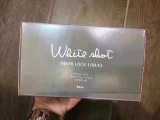 急速美白 日本 POLA White Shot美白口服液10支 美白飲
