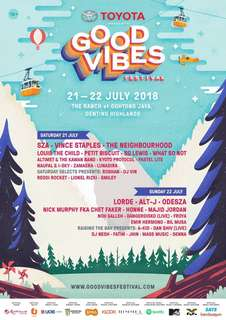 Good Vibes Festival 2018 two day pass