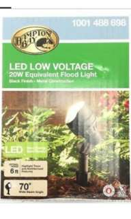 Hampton Bay Led Low Voltage Spotlight