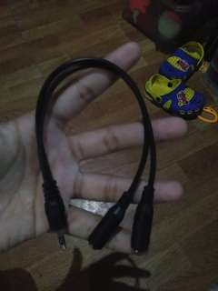 Headset splitter