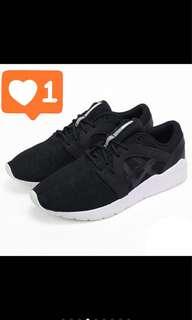 Asics 亞瑟士跑步鞋 球鞋 運動鞋  黑鞋