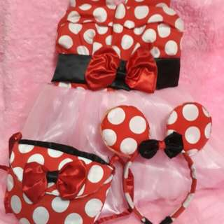 MINNIE MOUSE COSTUME SET