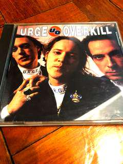 Urge Overkill CD
