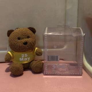 May 25 bear with box