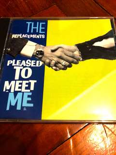 The Replacements Pleased to Meet Me CD