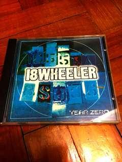 18 WHEELER Year Zero CD (Shoegaze/Indie pop)