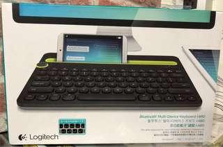 🚚 羅技 多功能藍牙鍵盤 k480
